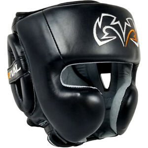 RIVAL Boxing RHG30 Mexican Training Headgear - Black