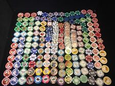 Starter Collection Of Rare Clay Poker Chips, Including Paulson Sets, Over 200