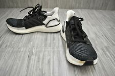 Adidas Ultraboost 19 B75879 Running Shoes, Women's Size 9, Black/White