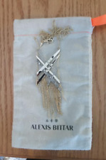 Alexis Bittar Women's Crystal Encrusted Plaid Collection Jewelry