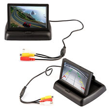 Car SUV TFT Color Rearview Monitor LCD Display Foldable Backup Parking Screen