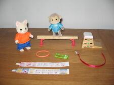 Sylvanian Families Gimnasia Set 2 figuras, Bóveda, haz y más 2012 Juegos Olímpicos