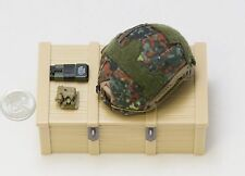 1/6 Soldier Story Kommando Spezialkrafte KSK Flecktarn Fast Helmet Lot *TOY*