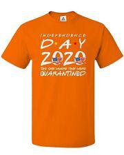 Independence Day July 4th American Flag 2020 Quarantine Patriotism Men's T-shirt