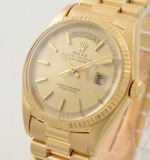 Rolex Day-Date 18K Gold 1803  aus 1971 Herren 36mm Vintage mit Box