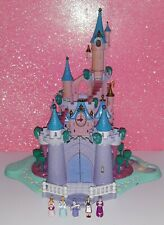 POLLY POCKET BLUEBIRD 1995 DISNEY CHATEAU CENDRILLON CASTLE CINDERELLA LIGHT UP