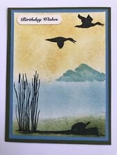 Stampin' Up! Wildlife Silhouette Birthday Wishes Card Kit