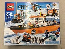 Lego City Arctic Icebreaker Ship 60062 BRAND NEW SEALED RETIRED