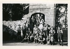 PHOTO ANCIENNE - VINTAGE SNAPSHOT - SCOUT SCOUTISME GROUPE - BOY SCOUT 1946 11