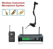 UHF Pro Wireless Beta 98H/C Instrument Microphone for Saxophone Tuba Trumpet