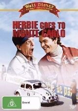 Herbie Goes To Monte Carlo DVD Movie BRAND NEW Walt Disney VW BEETLE LOVE BUG R4