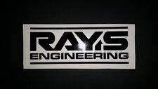 Rays Engineering vinyl cut sticker / decal 2 suit drift cars etc