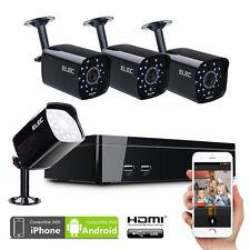ELEC 8CH 960H CCTV DVR 1500TVL IN/Outdoor Security Camera System Set Deal Price