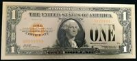 """<MINT> OLD STYLE """"GOLD"""" $1.00 GOLD CERTIFICATE One DOLLAR Rep.*Banknote W/COA~"""