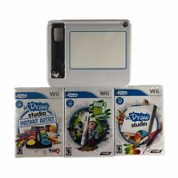 UDraw White Tablet for Nintendo Wii w/3 Games Tested Works