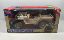 GI Joe 1:6 Jeep Desert Patrol Vehicle No Figure Hasbro 2002
