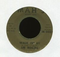 LEE ROGERS Walk on By Troubles on Mah's Detroit R&B 45 Hear