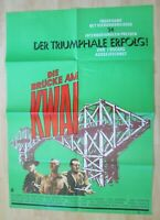 Filmplakat - Die Brücke am Kwai ( Alec Guiness , William Holden )