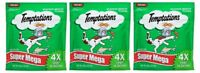 (Pack of 3) Temptations Classic Super Mega Seafood Medley Cat Treats - 12 Ounce