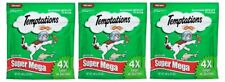 (Pack of 3) Temptations Classic Super Mega Seafood Medley Cat Treats - 12 Ounce