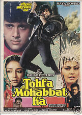 TOFA MOHABBAT KA PRESS BOOK  BOLLYWOOD,GOVINDA KIMMI KATKAR ANURADHA PATEL