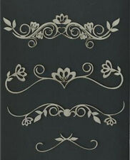 Chipboard Flourish Set 1