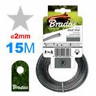 Cutting STRIMER LINE 2mm 15M✪STAR/Grass Strimmer, Lawn Mower/ HIGH Q-TY✪Strong