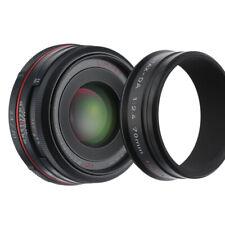 PENTAX SMC HD DA 70mm F2.4 LIMITED LENS 4 K MOUNT BLACK / MINT / 90D W