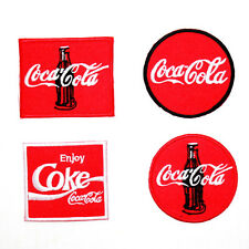 Lot 4 Cola Coke Sports Drink Biker Rock Punk Music Shirt Backpack Iron on patch