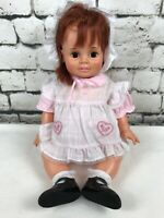 """Vintage Crissy Baby Doll 24"""" Ideal Toys Corp 1972, Model# GHB-H-225"""
