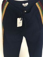 ISABEL MARANT ETOILE TRACKSUIT DOBBS MIDNIGHT NAVY BOTTOMS Size 42 BRAND NEW