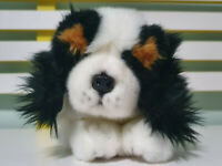 BOCCHETTA KING CHARLES SPANIEL PLUSH TOY DOG STUFFED ANIMAL 30CM LONG!
