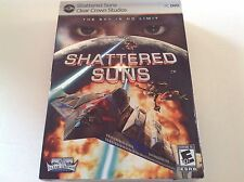 SHATTERED SUNS THE SKY IS NO LIMIT PC GAMES BRAND NEW & SEALED - H
