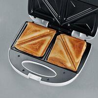 Tostapane Severin SA 2971 per sandwich e toast 600W, Bianco