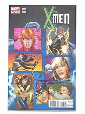 X-MEN #2 VARIANT EDITION, SIGNED BY COVER ARTIST AMANDA CONNER. 8/13 NM/MINT