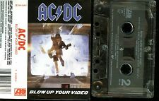 AC/DC Blow Up Your Video USA Cassette Tape