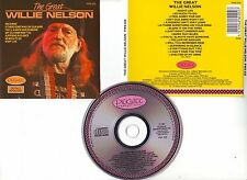 "Willie NELSON "" The Great "" (CD) 1987"