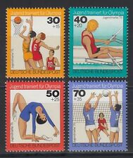 Germany Federal Germany 1976 MI 882/85 ** Olympic Basketball Volleyball Sport Sports