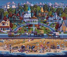 DOWDLE FOLK ART COLLECTORS JIGSAW PUZZLE MARTHA'S VINEYARD MASSACHUSETTS #00225