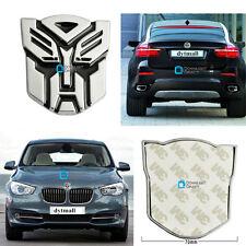 Transformer Autobot Optimus Prime Car Speed Racing Decals Emblem Badge Sticker