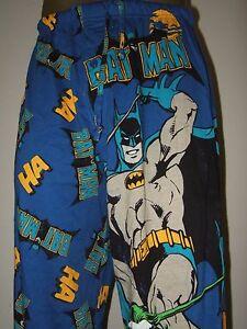 DC Comics Batman Gotham City Clown The Joker Evil HA Villain Pajama Lounge Pants