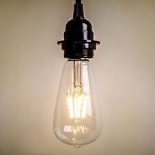 Edison Bulb LED ST64 6W Vintage Industrial Lighting Modern Rustic Room Bar Decor