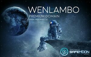 Premium Domain www.wenlambo.de / WENLAMBO Domainname by SAFEMOON