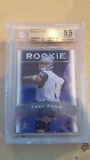 2003 UD Sweet Spot TONY ROMO Rookie RC Cowboys #143 175/675 BVG 9.5