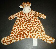 Doudou Plat Girafe Beige Taches Marron La Halle Kimbaloo G M TBE