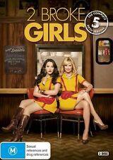 2 Broke Girls : Season 5 (DVD, 2017, 3-Disc Set)
