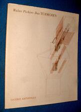 book Katalog Walter Pichler : DAS turmchen galerie Krinzinger Projekte 1988