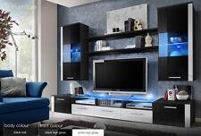 Modern Wall Unit Tv Display Living Room Unit High Gloss Furniture Fresh Free P&P