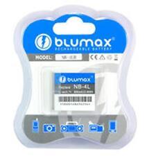 2 X Original Blumax Kamera  Akku 700mAh NB-4L Canon PowerShot SD1400 IS SD940 IS