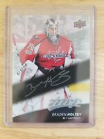 2017-18 Upper Deck MVP SILVER SCRIPT Braden Holtby Washington Capitals Card #169
